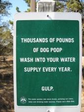 poop sign