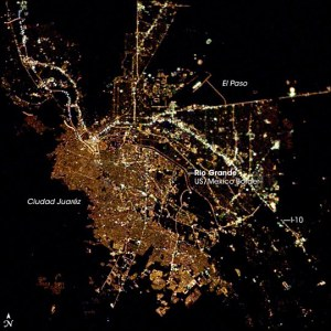 dos passos from space