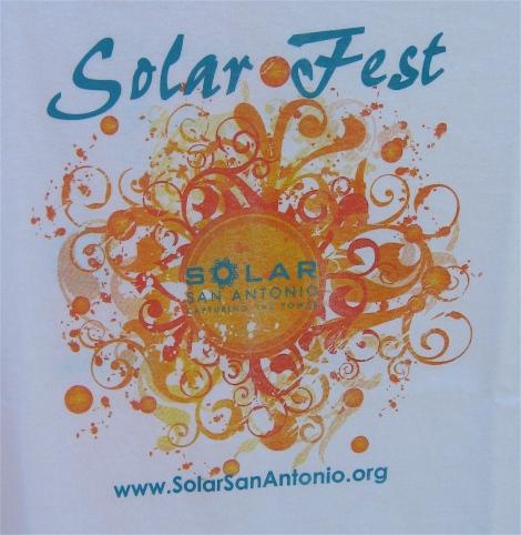 solar fest t-shirt