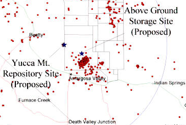 earthquake events at yucca mtn