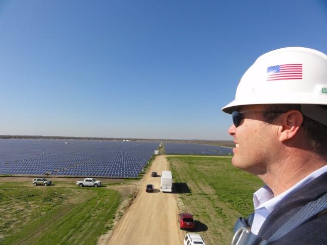 Austin Energy's 30MW Webberville solar farm