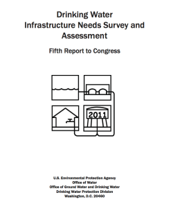 epa drinking water infrastructure report