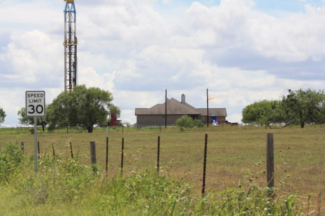fracking wilson county texas