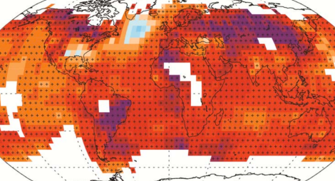 ipcc surface temperatures