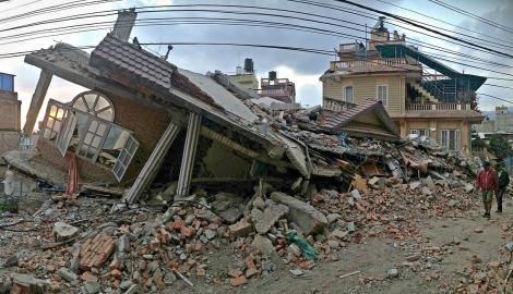 Earthquakes More Damage At Home Near Bay Sediments