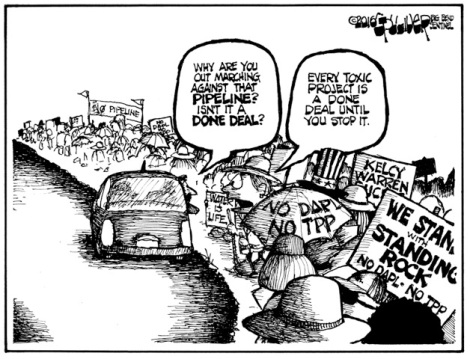 No Pipeline March